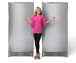 Stand Alone Refrigerator And Freezer From Electrolux Split