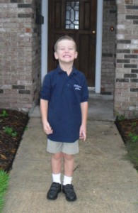 wyatt 1st day of school K 10