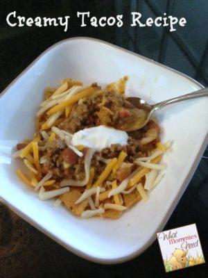 Creamy Tacos Recipe