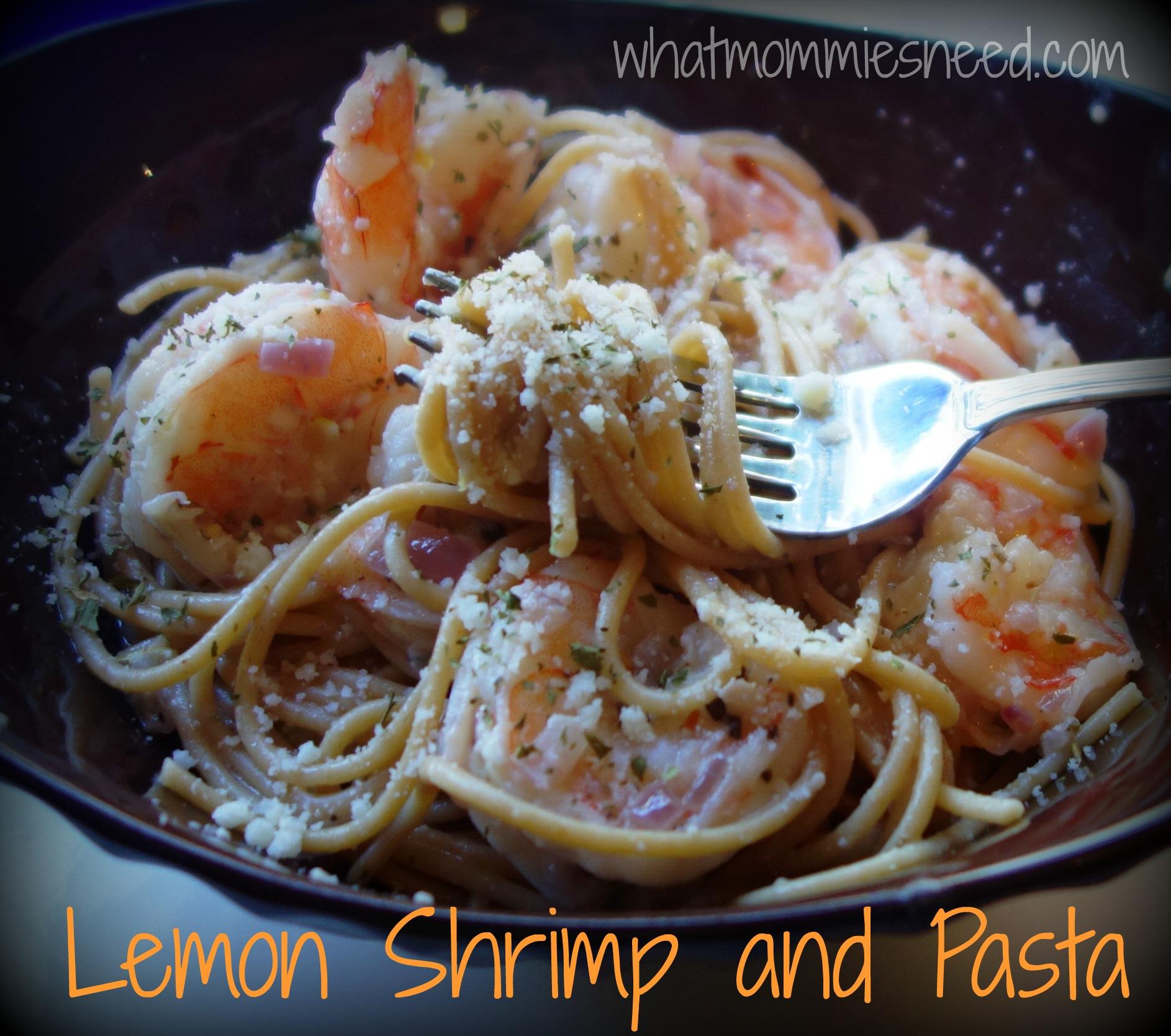 Lemon Shrimp and Pasta Recipe