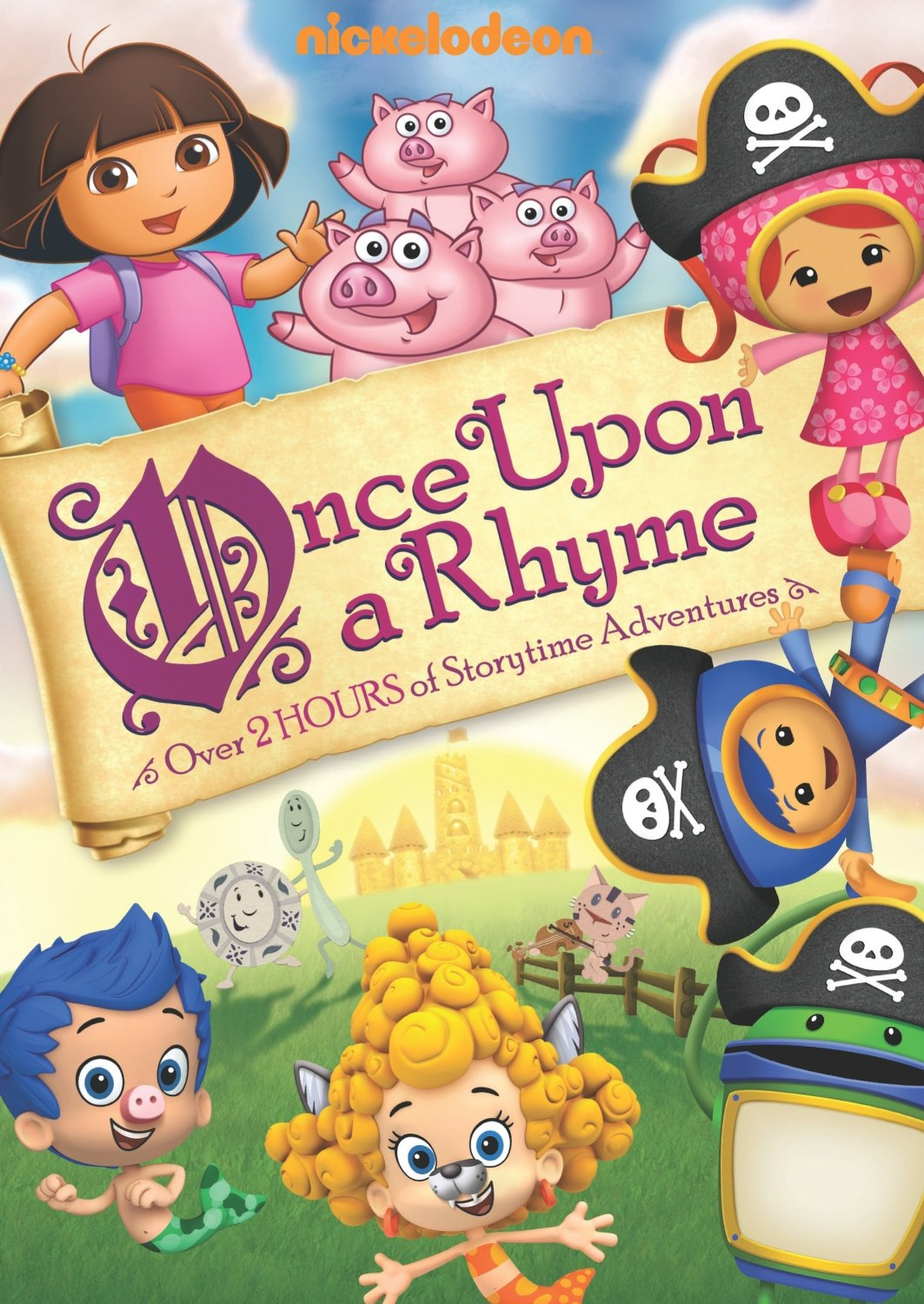 Nickelodeon Favorites: Once Upon a Rhyme DVD: Giveaway