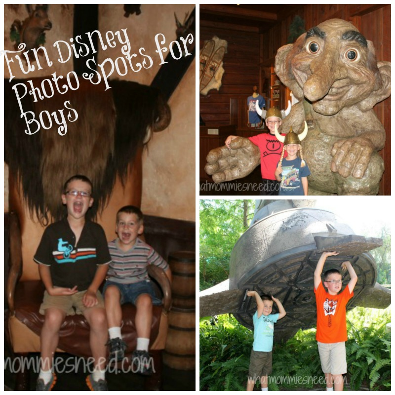 Fun Disney Photo Spots for Boys