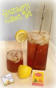 Southern Sweet Tea Recipe
