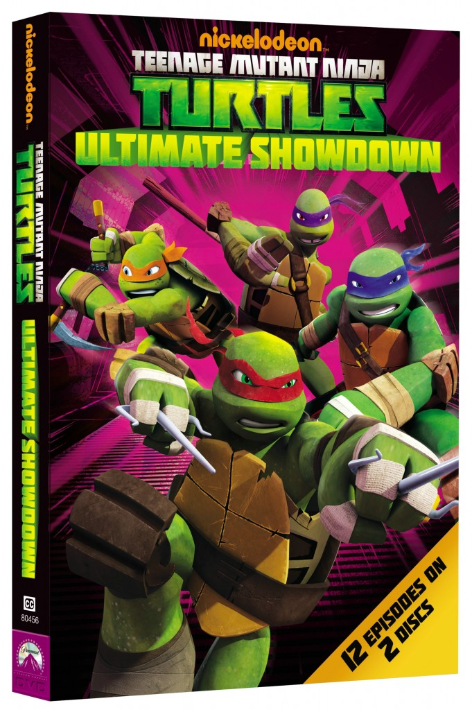 TMNT Ultimate Showdown DVD