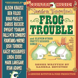 Frog Trouble is Toe-Tapping Fun for All Ages: #Giveaway