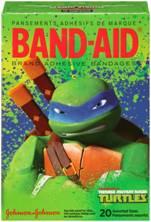 Band-Aid Teams Up with the Teenage Mutant Ninja Turtles: #Giveaway