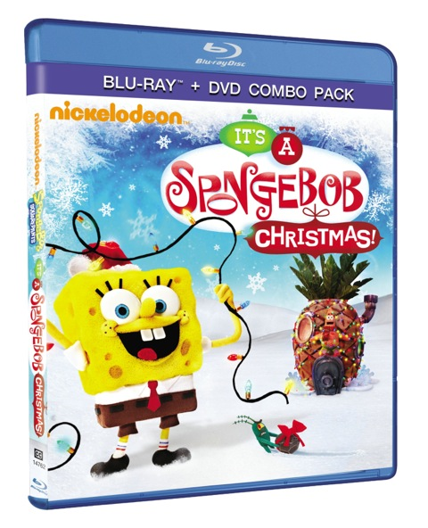 It's A Spongebob Christmas Blu-Ray