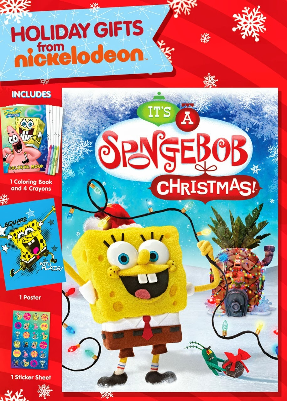 It's A SpongeBob Christmas Holiday Gifts DVD: #Giveaway