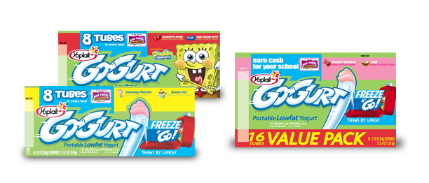 Like a I said, my boys are Go-Gurt fans! They tend to go through at least one box a week. If I am going to pack them in a lunchbox, ...