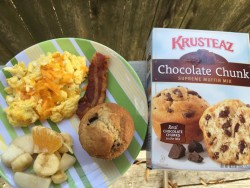 February is National Hot Breakfast for Dinner Month, Celebrate with Krusteaz!