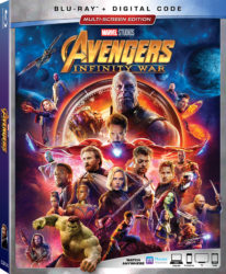 Avengers Infinity War Blu-Ray Arrives on Tuesday August 14th