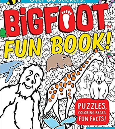 Go Wild with the BigFoot Fun Activity Book