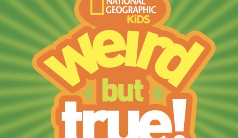 National Geographic Kids Weird but True Books Make Great Gifts