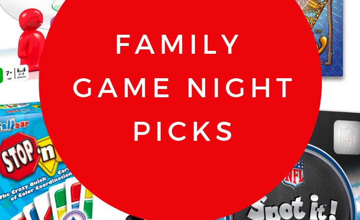 Great Games for Family Game Night