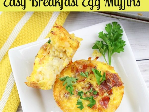 Easy Breakfast Egg Muffin Recipe